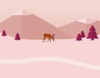 Seasons banner illustration