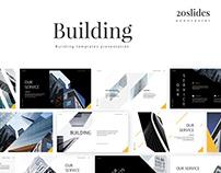 Building - template presentation PPT KEYNOTE