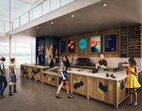 Dodoni Ice Cream's Store redesign