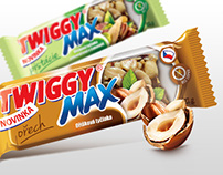 Twiggy cereal bars - packaging design