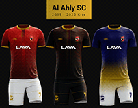 Al Ahly SC l 2019 - 2020 Kits (Unofficial)