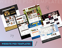 8 Unique Homepage Designed in Photoshop