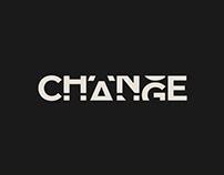 CHANGE - Logo and Identity Design for Interior studio
