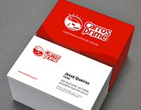 Cartão de visitas para Carros Prime (Design gráfico)