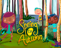 Spring to Autumn - Character Design
