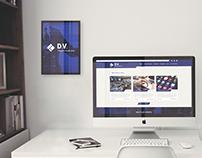 Visual design | Website for a Modern Tech Company