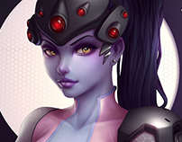 Widowmaker, Overwatch fan art