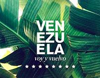 Personal project: Venezuela, voy y vuelvo