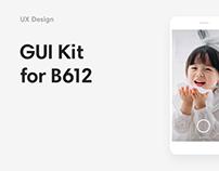 B612 UI kit