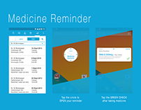 Medicine prescription and reminder app