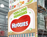 Puntera Wipes mayorista | Huggies