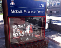 Welcome to McKale Kiosk Schedule Poster