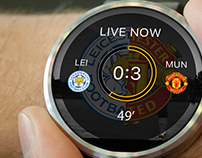 Smart watch application for Football alerts