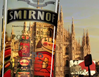 Smirnoff Black - Matrioska Invaders