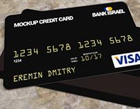 Free Credit / Bank Card Mockup Psd