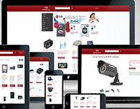 Interface web responsive para Grupo Núcleo