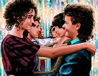 Official Stranger Things print (and book contribution)