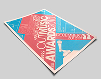 OUT Music Awards Poster