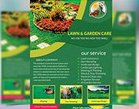 Lawn & Garden Care Flyer