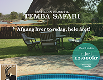 Temba Safari - Ekstra Bladet:16th Apr '16