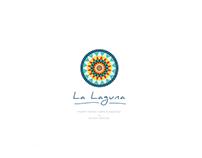 """La Laguna"" restaurant logo design"