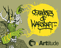 STREETS OF WARCRAFT- ARTTITUDE - Official Artbook