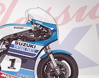 Suzuki XR69 - Team Classic Suzuki