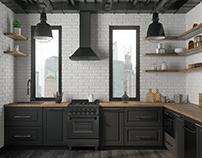 Loft Kitchen for ZLINE