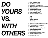 Do Yours vs. With Others