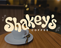 Shakey's Coffee: Branding & Web Design