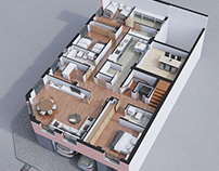 3D Plane of House