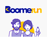 Boomerun, app with chatbot