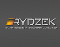 logo design - RYDZEK