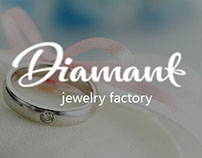Jewelry factory Landing page