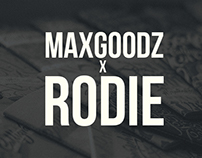 Maxgoodz Sketchbooks x Rodie Collaboraton