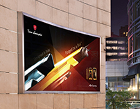 "Outdoor ads for Tonino Lamborghini mobile ""Antares"""