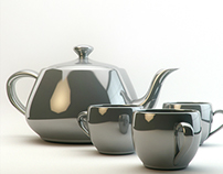 TEAPOT studio light study
