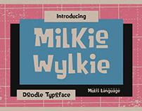 Milkie Wylkie - Doodle Typeface