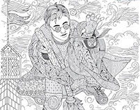 M-Net Movies - Adult Colouring Print