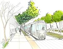 Urban planning sketchs