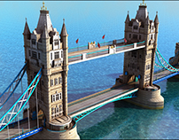 Tower Bridge. Game Art