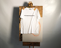 Gosha Rubchinskiy rebranding campaign + sketchbook