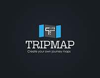 TRIPMAP Logo and App design part 1