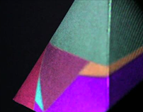 Polygon in motion - video Installation