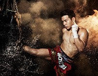 Muay Thai High Speed Test Shoot. Profoto D2 1000AirTTL
