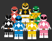 Lego Power Rangers