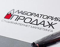 Логотип Студии интернет маркетинга Лаборатория Продаж