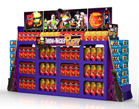 "Pepsi Lays ""Throw a Wicked Party"" Retail Pallet Display"