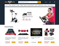 Health & Fitness Equipment & Supplement E-commerce