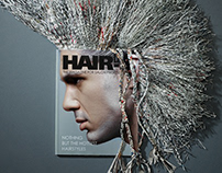 Hair's How Magazine Print Campaign